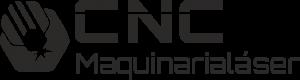 logotipo negro CNC Maquinaria Láser